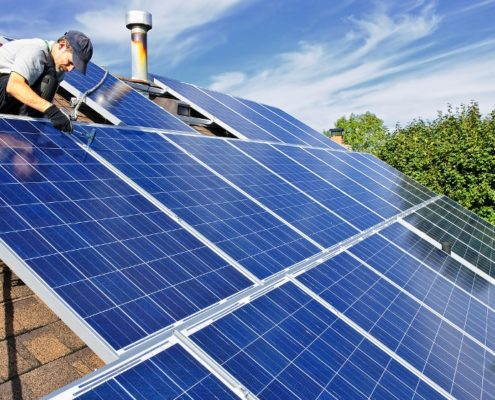 Solar Panels Real Estate Investment