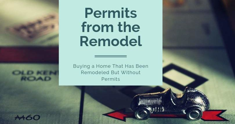 permits from a remodel