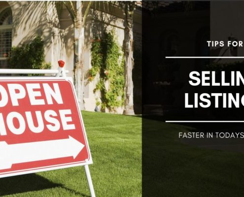 TIPS FOR SELLING HOMES FASTER